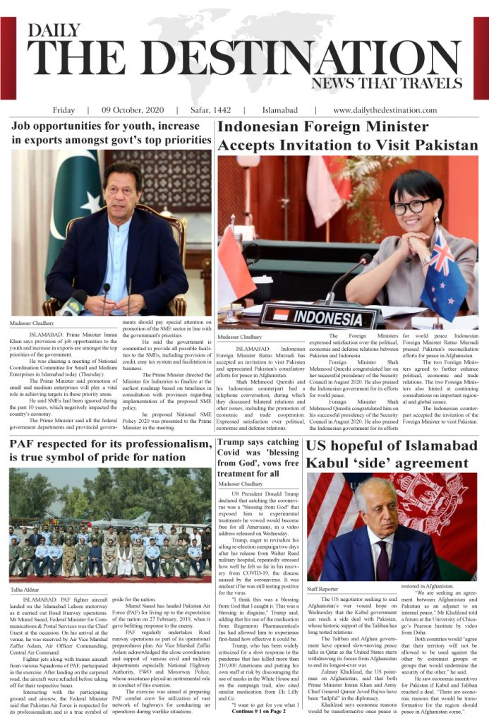 Daily the Destination - ePaper 01 - 09 Oct 2020