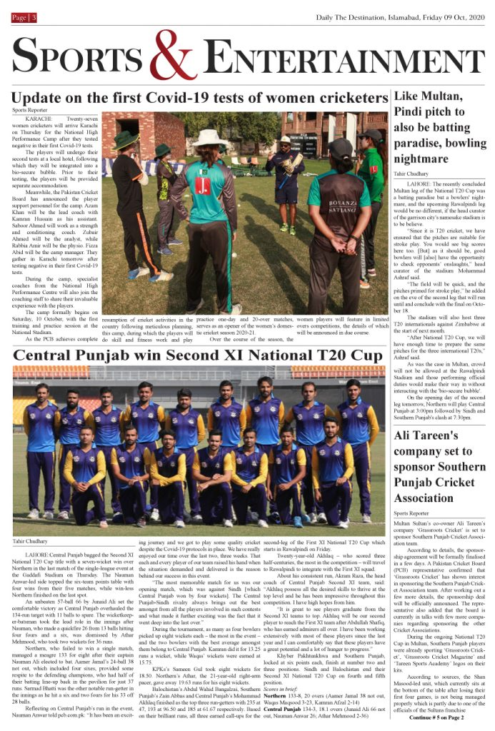 Daily the Destination - ePaper 03 - 09 Oct 2020