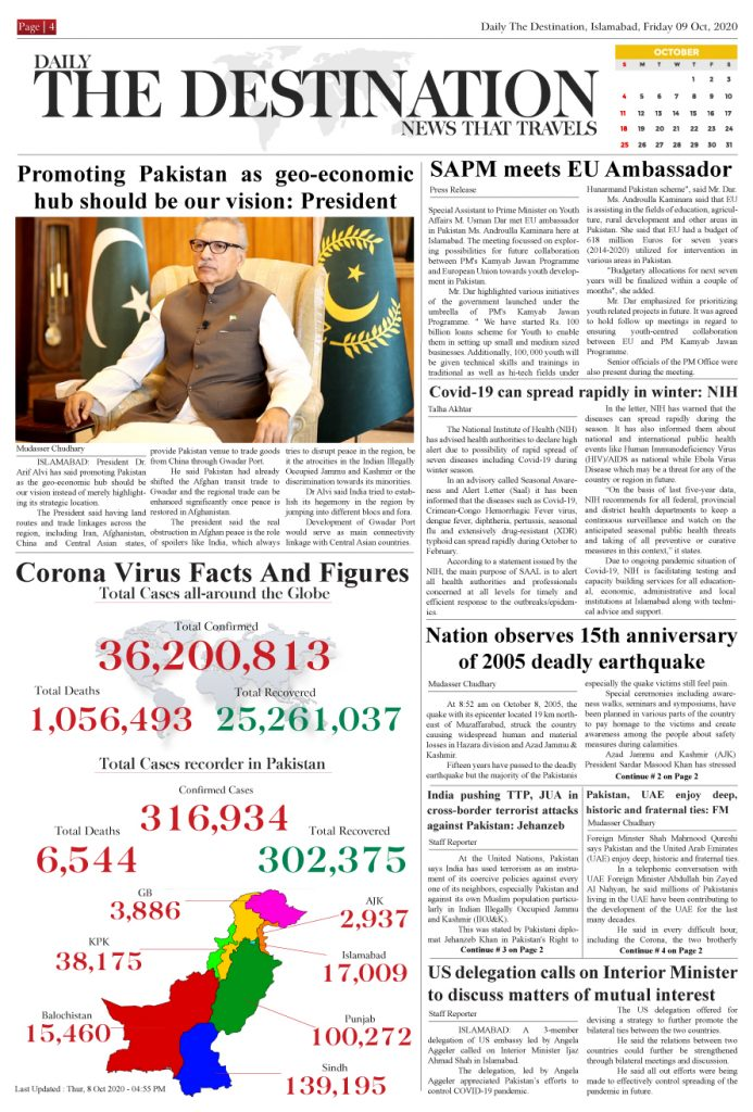 Daily the Destination - ePaper 04 - 09 Oct 2020