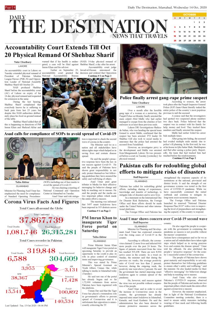 Daily the Destination - ePaper 04 - 14 Oct 2020