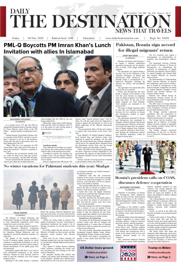 Daily the Destination - ePaper 01 - 06 Nov 2020