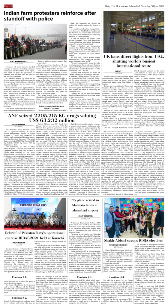Daily the Destination - ePaper 02 - 30 Jan 2021
