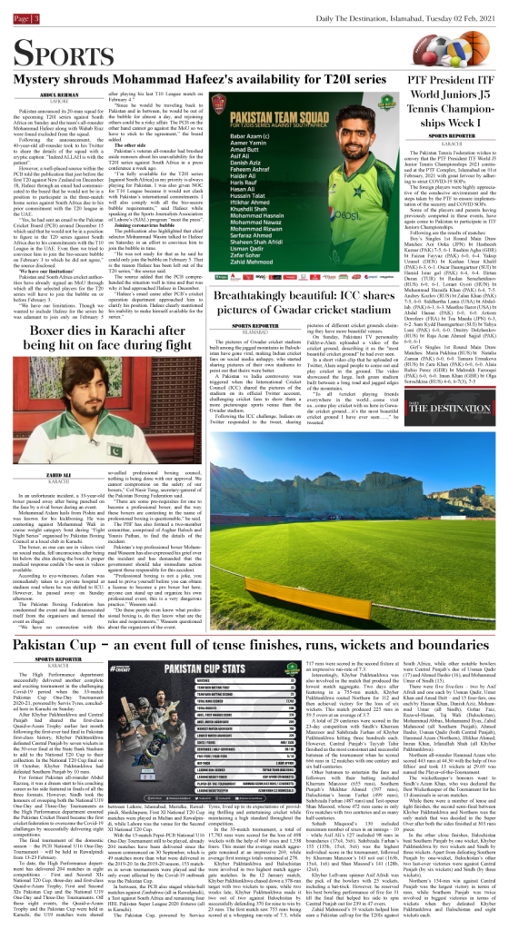 Daily the Destination - ePaper 03 - 02 Feb 2021