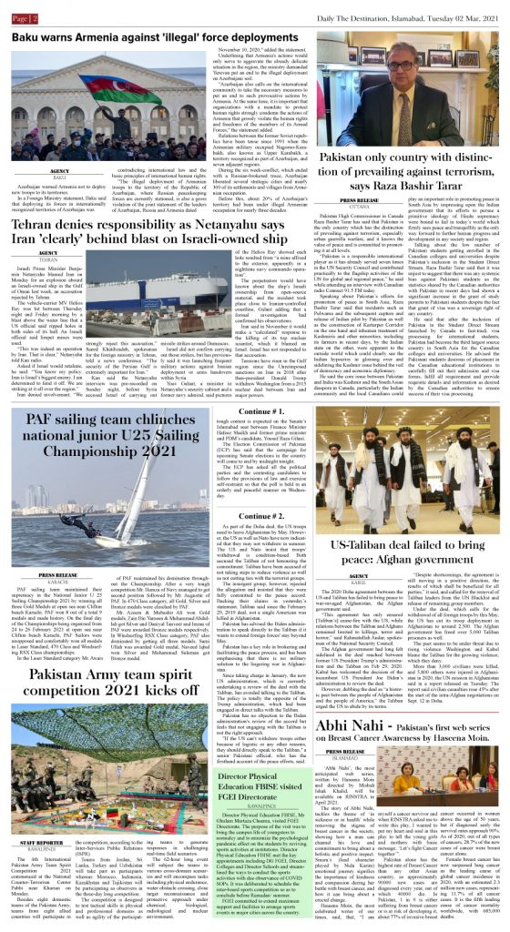 Daily the Destination - ePaper 02 - 02 Mar 2021