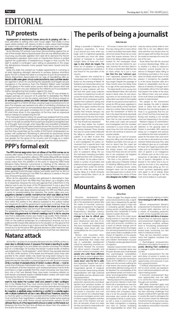 Daily the Destination - ePaper 04 - 15 Apr 2021