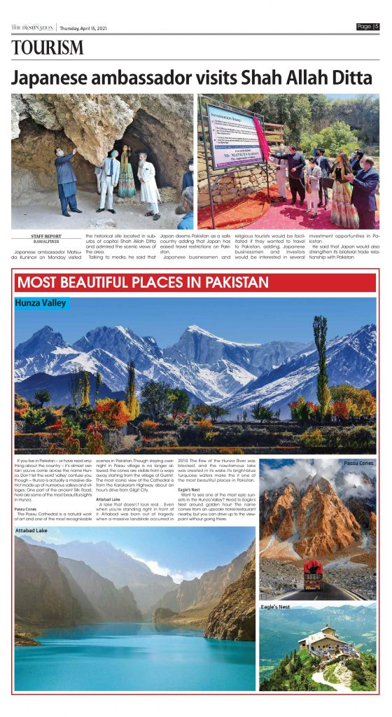 Daily the Destination - ePaper 05 - 15 Apr 2021