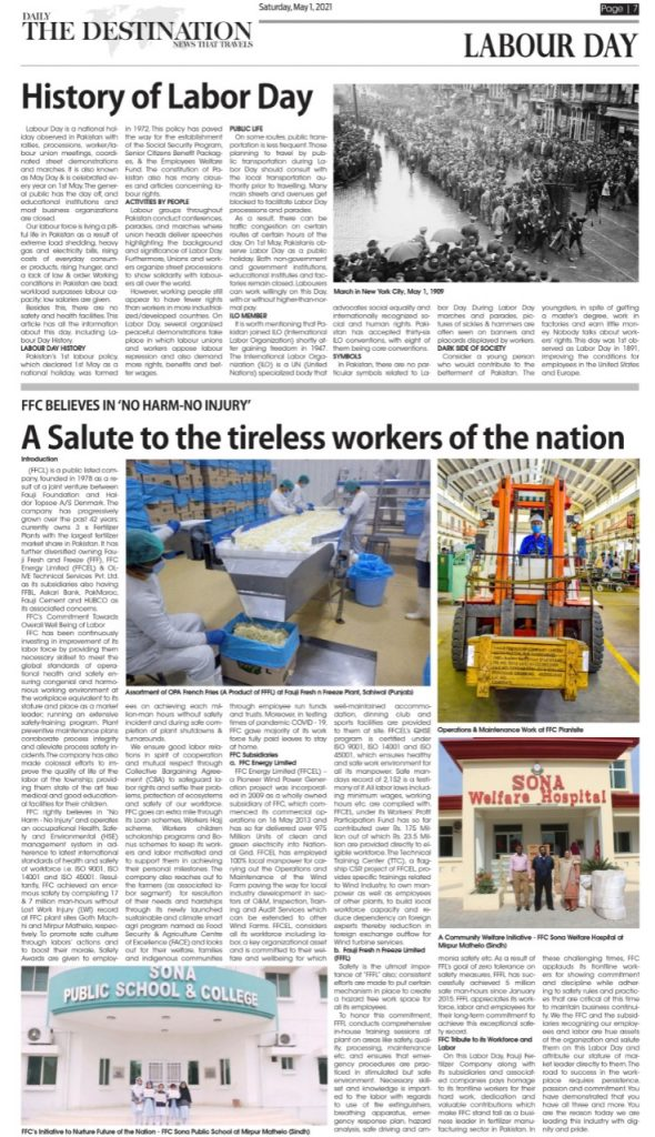 Daily the Destination - ePaper 07 - 01 May 2021