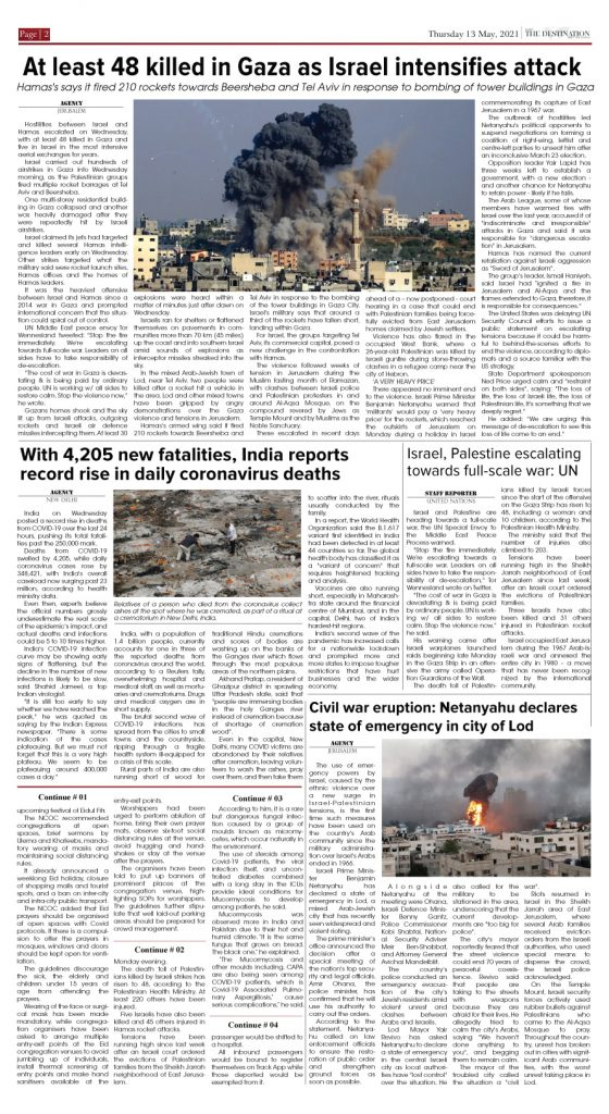 Daily the Destination - ePaper 02 - 13 May 2021