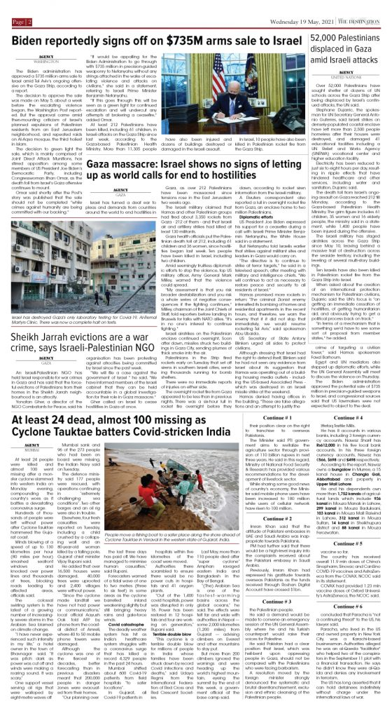 Daily the Destination - ePaper 02 - 19 May 2021