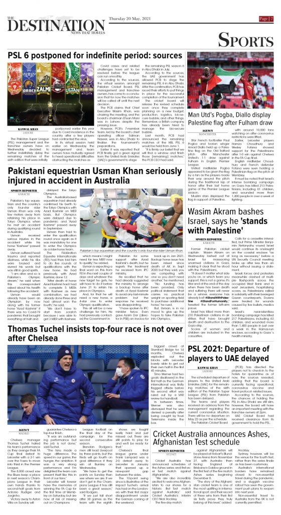 Daily the Destination - ePaper 07 - 20 May 2021