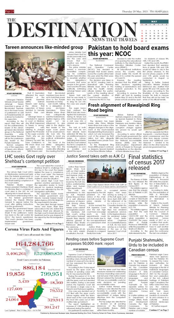 Daily the Destination - ePaper 08 - 20 May 2021