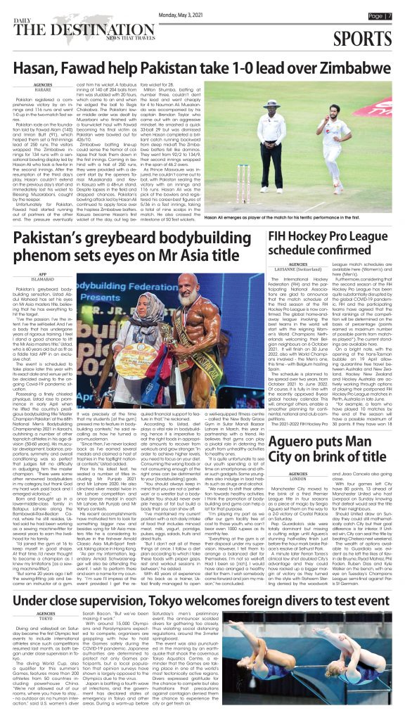 Daily the Destination - ePaper 07 - 03 May 2021