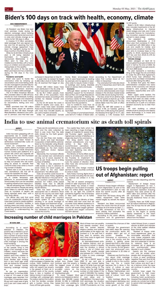 Daily the Destination - ePaper 02 - 03 May 2021
