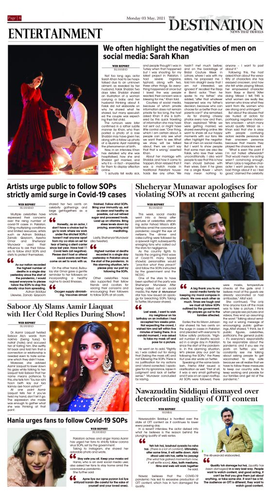 Daily the Destination - ePaper 06 - 03 May 2021