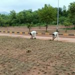 CDA carried out plantation drive during Eid holidays